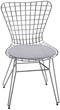 Cadeiras Bertóia para             cozinha Modelo 1943 bar copa americana estofada
