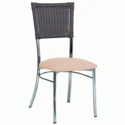 Cadeiras para cozinha Modelo 137 bar copa america             estofada