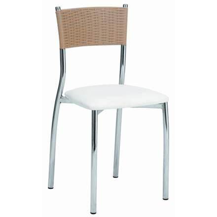 Cadeiras para cozinha Milano 141 bar copa america estofada