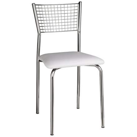 Cadeiras para cozinha Milano 145 bar copa america estofada