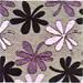 Chenille flor 089 - Cadeiras para                         cozinha Milano 134