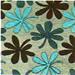 Chenille flor 090 - Cadeiras para                         cozinha Milano 142